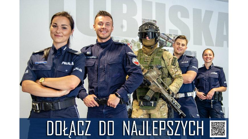 Komendant Wojewódzki Policji w Gorzowie Wlkp. poszukuje kandydatów do służby w Policji