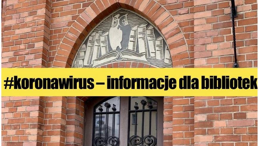 Zamknięcie instytucji kultury od 7.11.2020 (sobota)