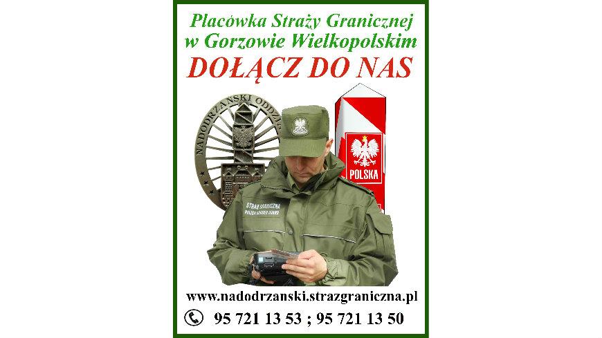 Nabór do służby w Nadodrzańskim Oddziale Straży Granicznej
