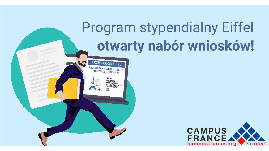 Program stypendialny Eiffel - otwarty nabór wniosków!