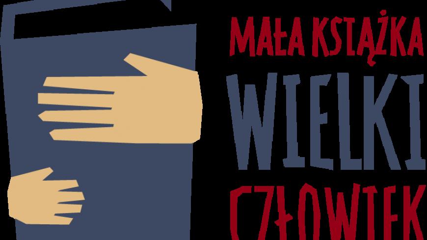 Logo mała książka- wielki człowiek